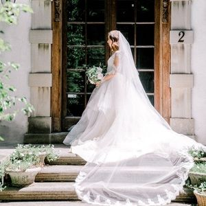 Blush by Hayley Paige bridal gown.